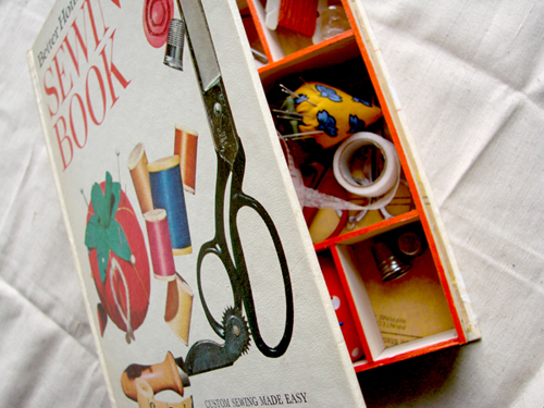 Sewing box book