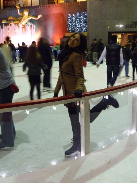 Skating at Rockefeller
