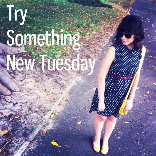 Try Something New Tuesday: Outfit Post