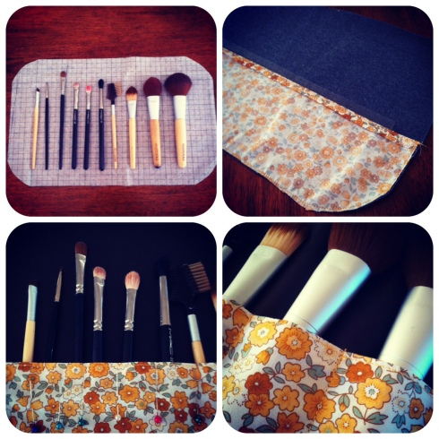 How to make a brush roll